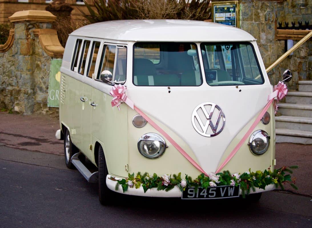 volkswagen furgone matrimonio